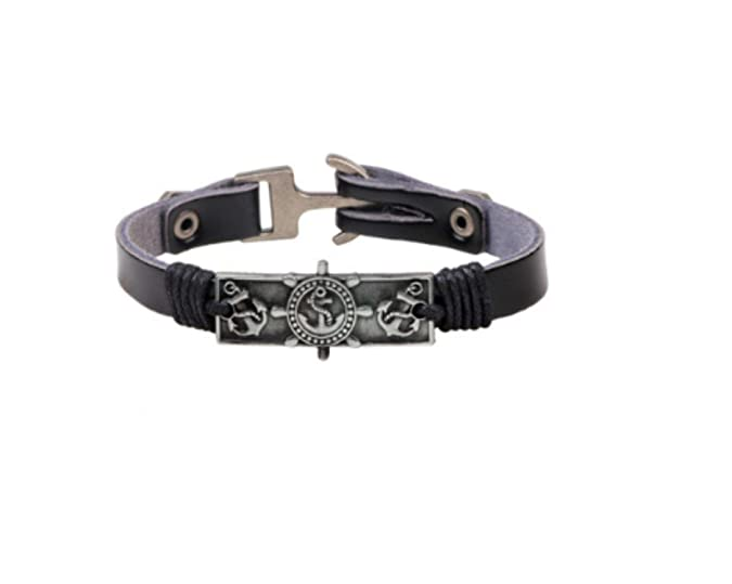 Anself - Korean personality mens titanium steel bracelet