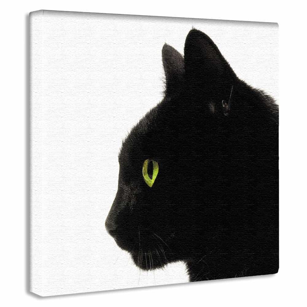 【アートデリ】黒猫のアートボード 小物 インテリア Lサイズ pop-0094-L pop-0094-L B01K9SJ4J0 Lサイズ|pop-0094 Lサイズ
