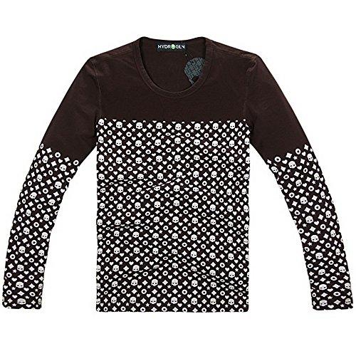 HYDROGEN ポロシャツ メンズ ゴルフ コットン 綿 100% 半袖 夏 プリント18748799 [並行輸入品]
