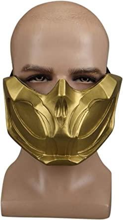 2019 Mortal Kombat 11 Scorpion Man Hanzo Hasashi Cosplay Halloween Costume