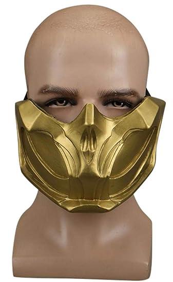 mortal kombat scorpion mask