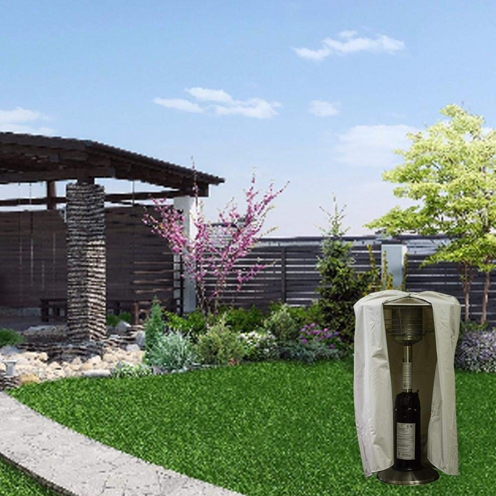 Resistente al Agua Antipolvo Cubierta de jard/ín para el Calentador de Patio Wifehelper Cubierta para Calentador de Patio para Chimenea Resistente a los Rayos UV