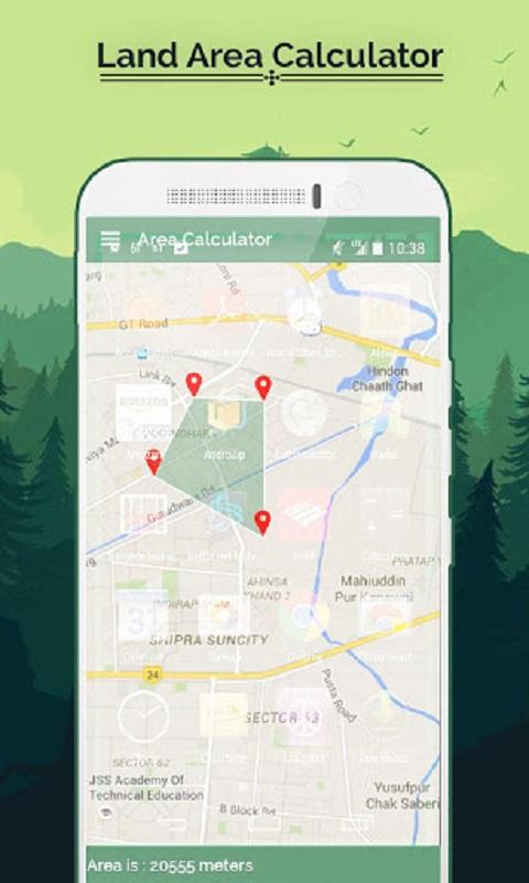 Amazon com: Real GPS Area Calculator, Distance & Route Finder
