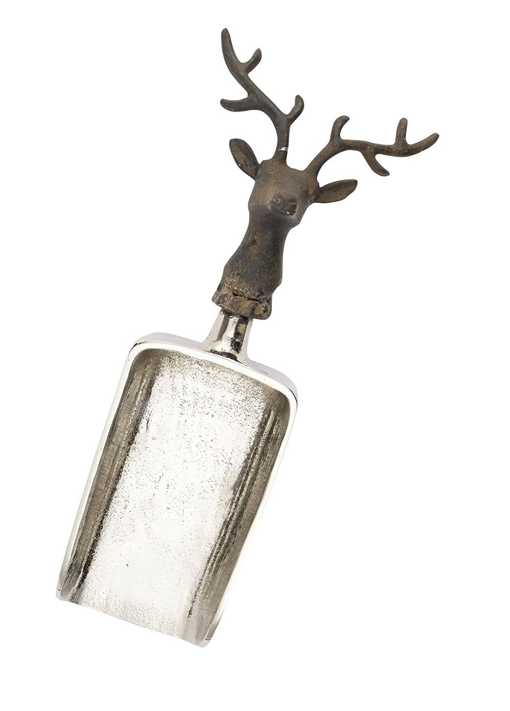 Rustic Style Reindeer Holiday Ice Scoop