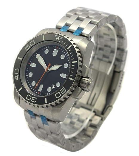 Professional automático cristal de zafiro reloj de buceo Pro Diver 100 ATM ep3620 Negro: Amazon.es: Relojes