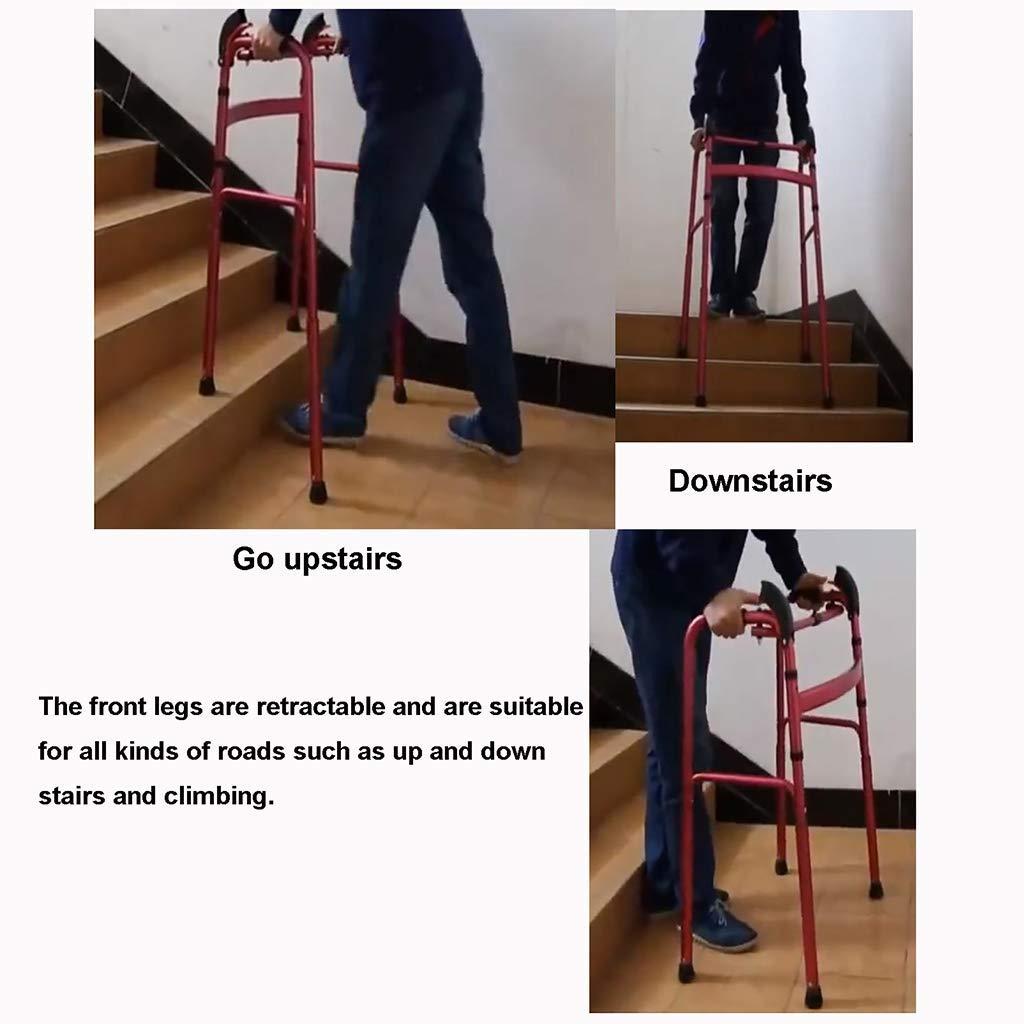 ZXL Escaleras para Subir Bastidor Plegable de Aluminio, Ayuda para ...