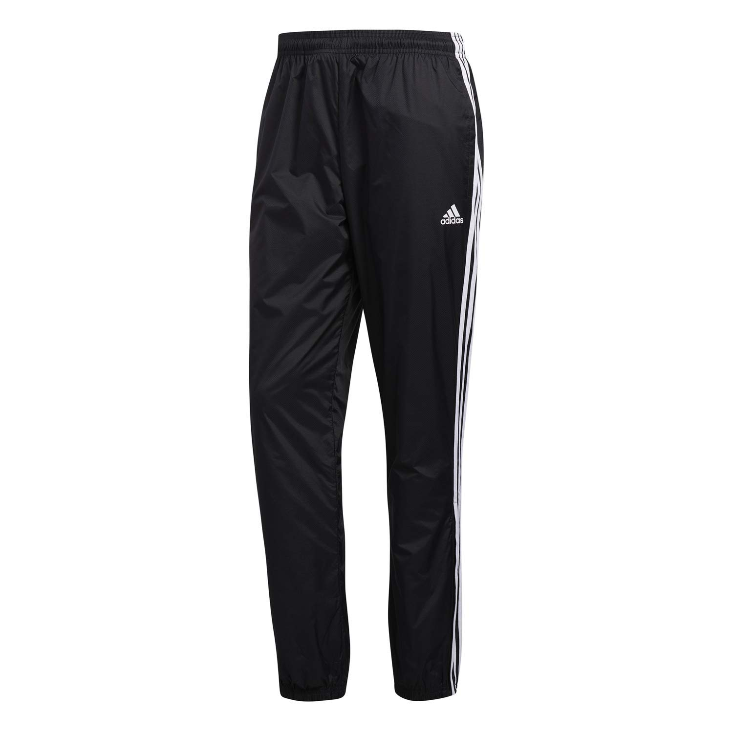 adidas Mens Athletics Essential 3 Stripe Jogger Pant, Black, Large by adidas