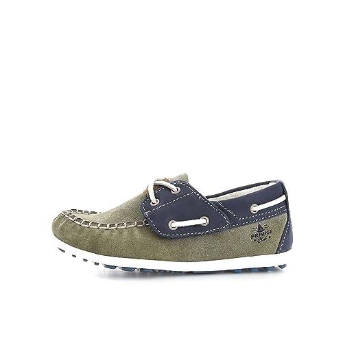Primigi - Mocasines para niña verde/azul: Amazon.es: Zapatos y complementos