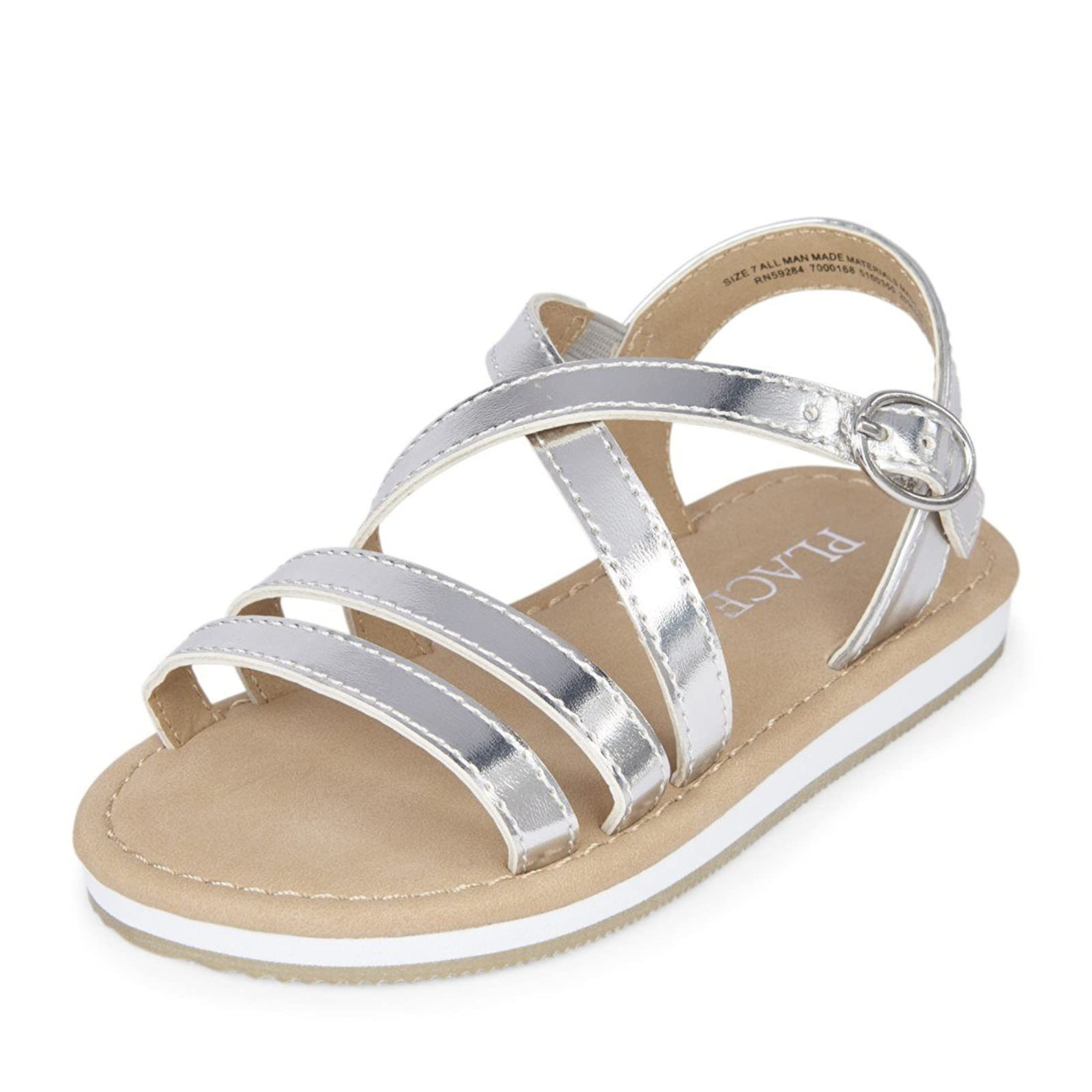 The Children's Place Girls' E TG 2096938001 Silver - 1