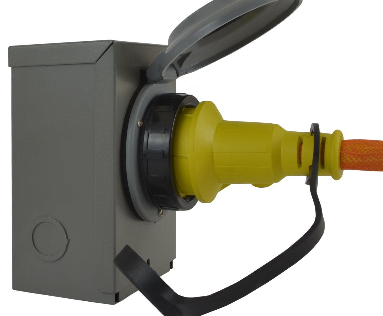 Conntek GIBL530-050 Duo-RainSeal Kit 30 Amp Transfer Switch Cord/Generator Extension Cord with Inlet Box, 50' by Conntek (Image #2)