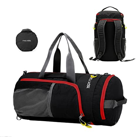 8903ba1378b2 Sports Duffels, P.Ku.Vdsl Foldable Travel Duffel Bag, Water ...