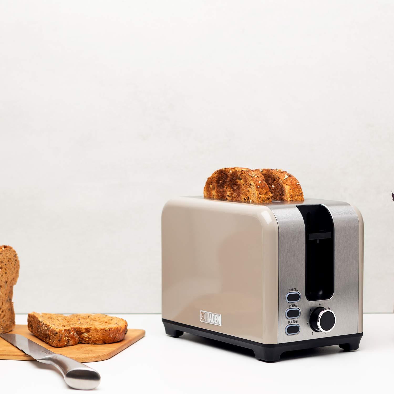 Haden Jersey 2 Slice Toaster Red