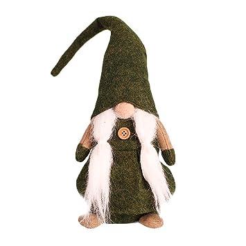 Amazon De Bestoyard Weihnachten Wichtel Deko Figuren Winter Zwerge