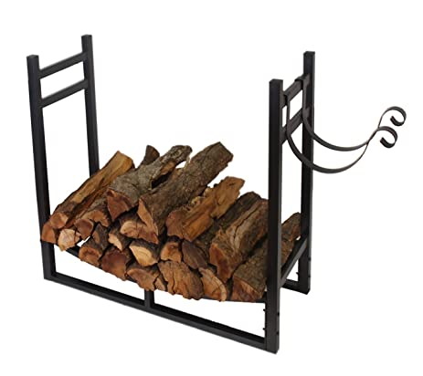 Amazon.com : Patio Watcher 3-Foot Firewood Rack Log Rack Indoor ...
