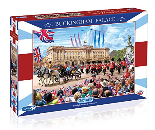 Price comparison product image Gibsons Buckingham Palace Jigsaw 1000 Pieces Puzzle
