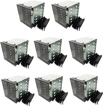 Gazechimp 8X Soporte de Chasis de Caja de HDD, Capacidad: 5 x SATA 3.5 Pulgadas HDD, Ocupación: 3 Bahías de 5,25 Pulgadas: Amazon.es: Electrónica