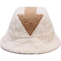 Appa Bucket Hats Women Arrow Cute Winter Warm Soft Comfortable Cap Lamb Wool Fisherman Hat