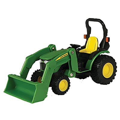 TOMY John Deere Tractor with Loader 1/32 Scale: Toys & Games