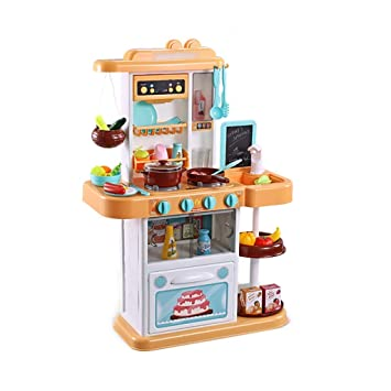 Amazon.com: Toy Basketball Play Kitchen Cooking Set Kids ...