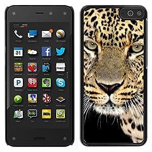 Print Motif Coque de protection Case Cover // V00000164 Leopardo // Amazon Fire Phone