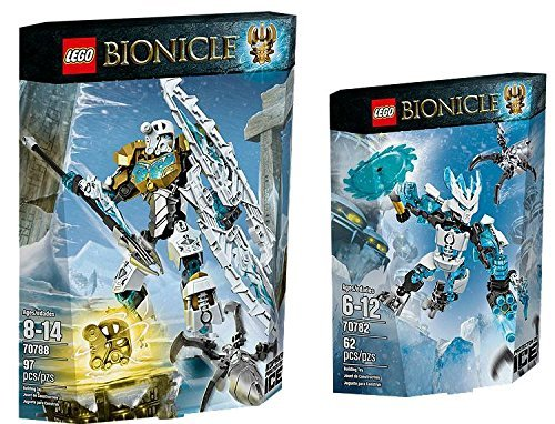 LEGO Bionicle Protector of Ice Power Up Set [70788, 70782] (Bionicle 70788)