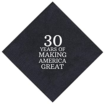 ef4e9695ef495 Amazon.com | 30th Birthday Gifts 30 Years Making America Great 50 ...