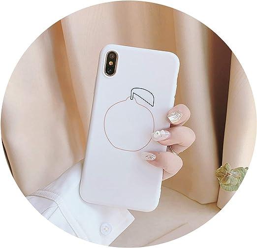 Amazon.com: Korea Retro Super Simple pear Fruit Art Phone Case for ...