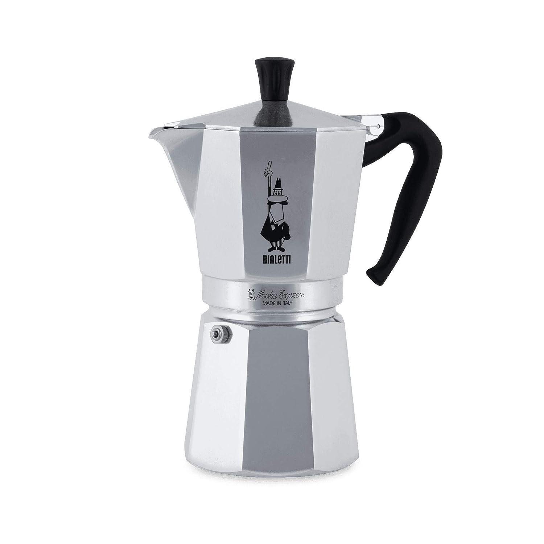 Bialetti 1166 Moka Express Export Espresso Maker, Silver