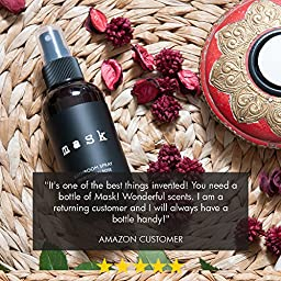 Premium Moroccan Rose Bathroom Spray 2oz, Before You Go Toilet Deodorizer, Best Value Air Freshener Poo Poop Spray, Perfect for Travel, Made in USA, Try Risk Free Today!