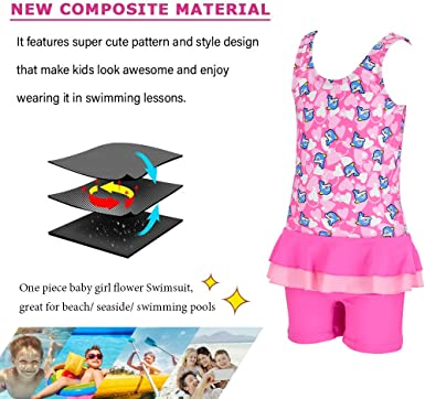 NEW Bright Bots baby girl rash top bathers UPF 50 size 00 Fits 3-6m RRP $22.95
