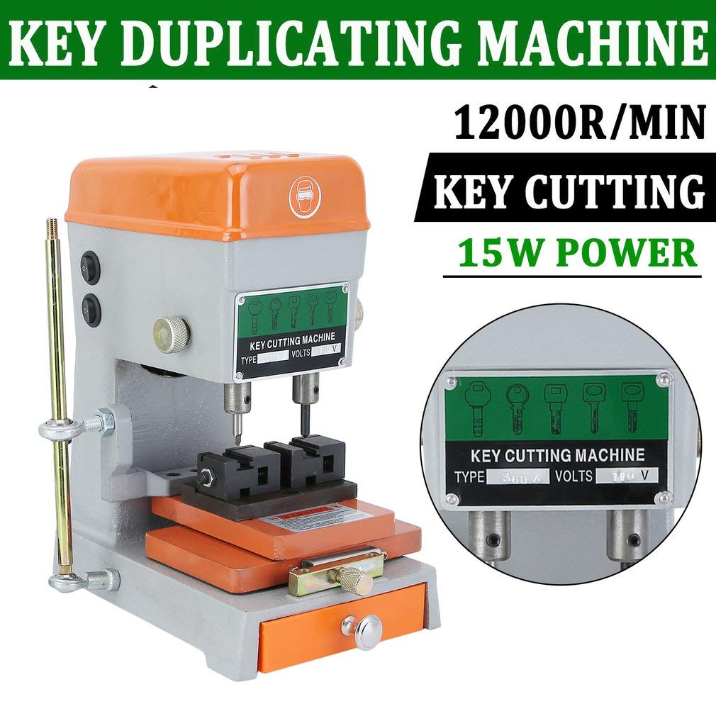 ElectSmall Automatic Key Duplicating Machine Universal Key Reproducer Cutter Machine for Car & House Home Keys