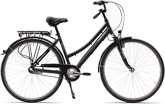 HAWK City-Trek Sport, 3-G Bicicleta, Unisex Adulto, Color Negro, 28 Pulgadas: Amazon.es: Deportes y aire libre