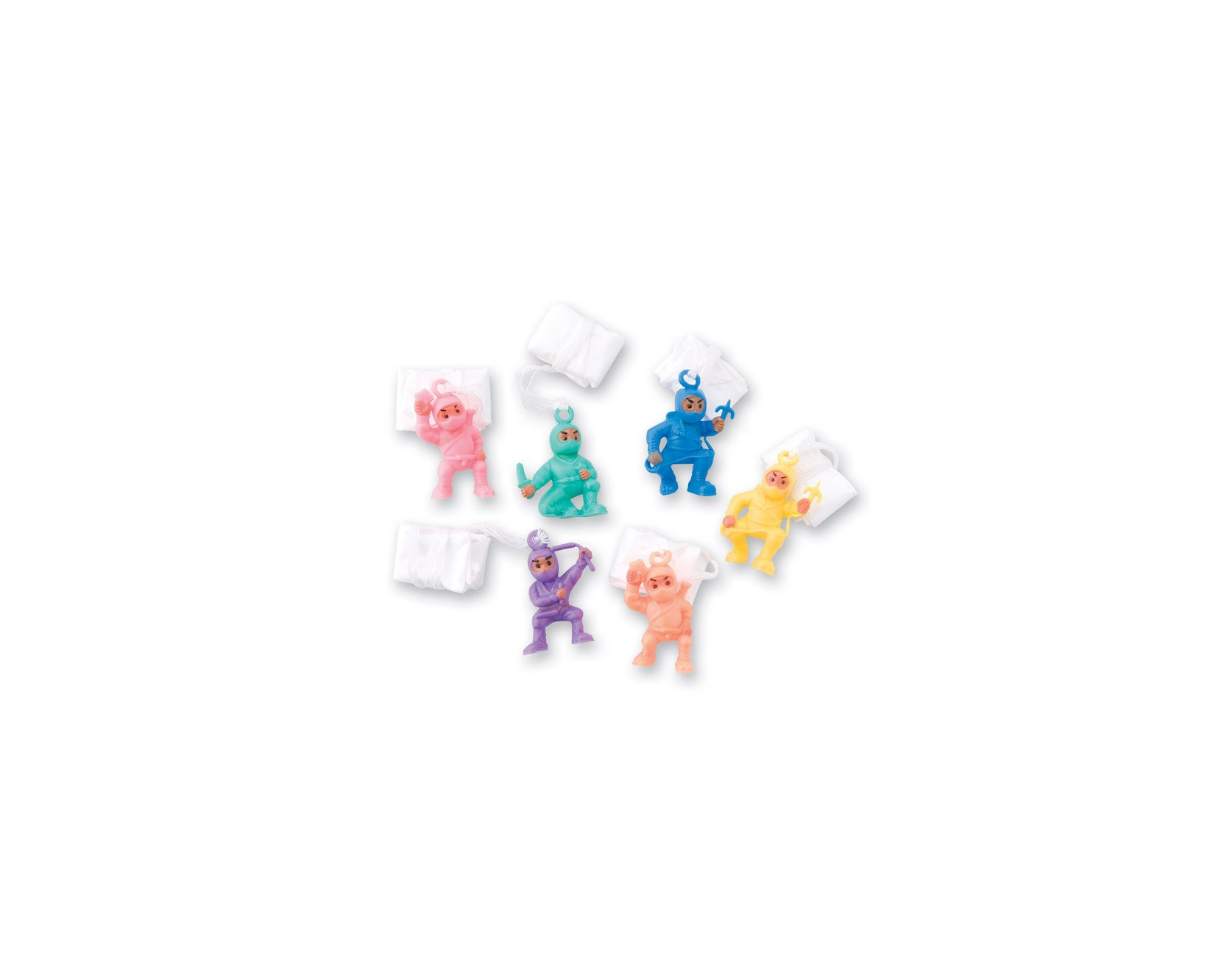 SmileMakers Ninja Paratroopers - 72 per Pack by SmileMakers