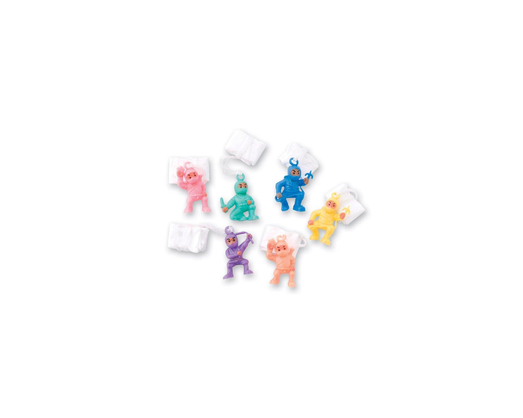 SmileMakers Ninja Paratroopers - 72 per Pack