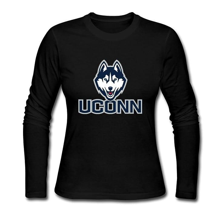 Amazon Womens Funny Blank Ncaa Uconn Huskies Logo Word Mark
