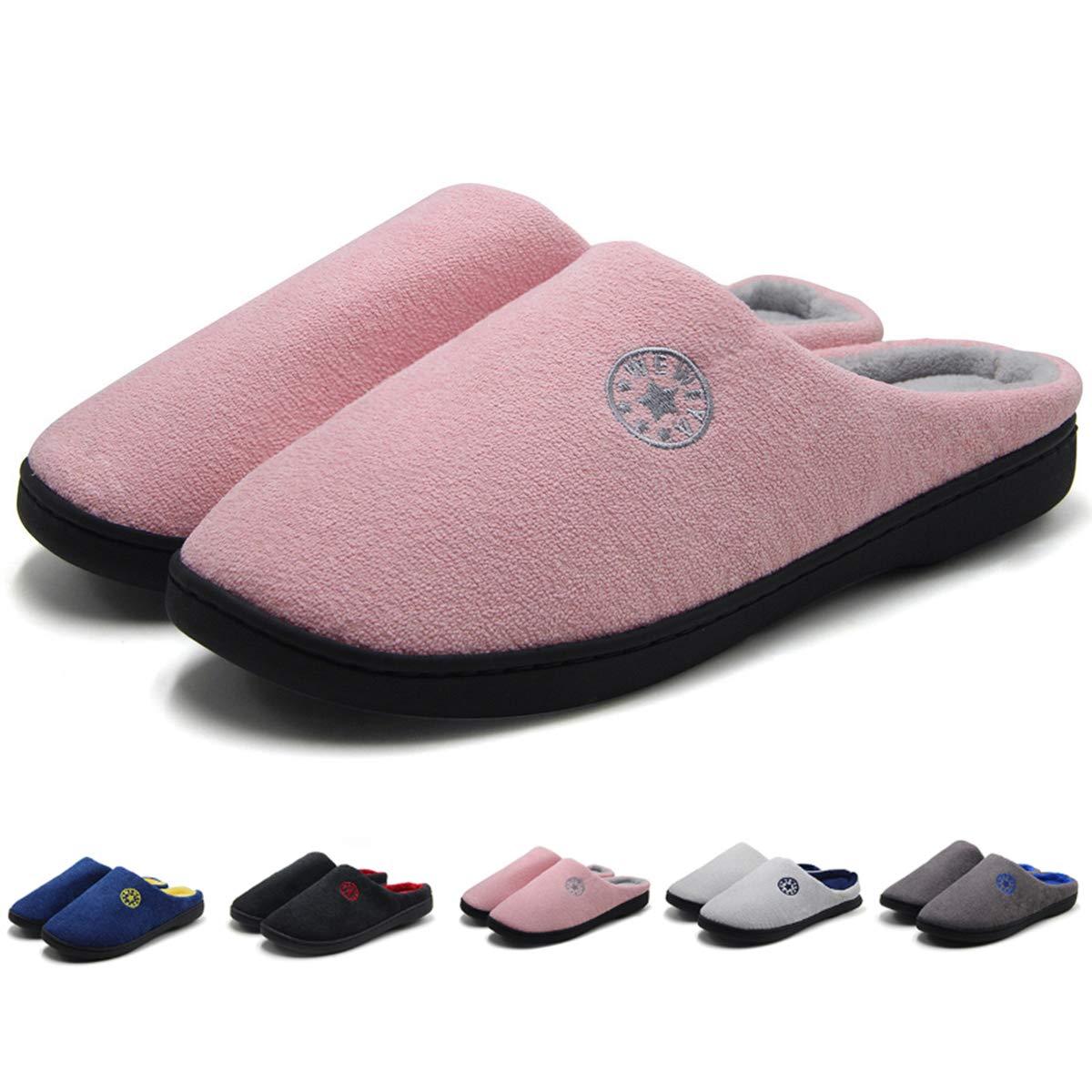 ziitop House Slipper Men Women Memory Foam Slipper Soft Comfort Slip on Clog House Shoes Indoor Slippers