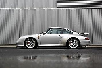 Poster of Porsche 911 993 Turbo Super Car HD 24 x 16 Inch Print
