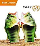 Fish Slippers Fish Sandals | Beach Shoes | Animal Slippers | for Women Men Kids Non Slip Summer Beach Sandals (Female 6-6.5 / Kid 4-5)