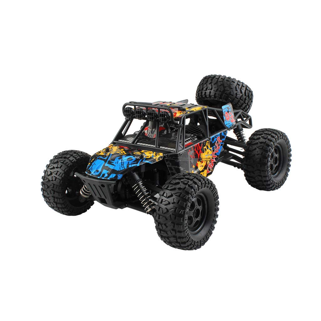 GOUTOO Remote Control Car G173 1/16 2.4G 4WD 36km/h High-speed Remote Control Off-road Truck (A)