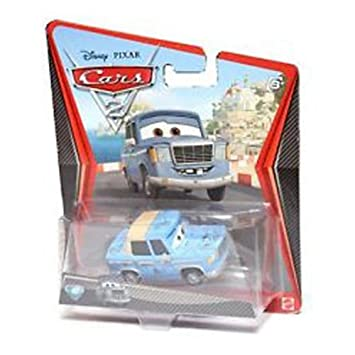 Disney Cars 2 Movie Die Cast No 43 Otis Super Rare Chase Piece 1