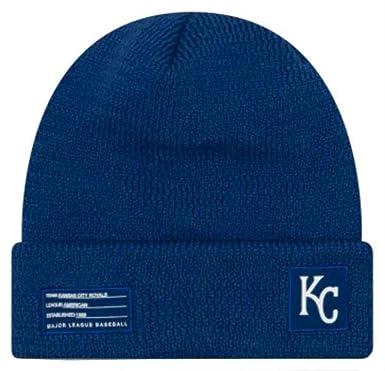 50cf410a Amazon.com: New Era MLB Kansas City Royals Sport Stocking Knit Hat ...