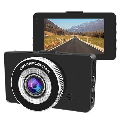 Cámara De 1080P HD para Automóvil Pantalla De 3 Pulgadas HD Sensor Sony 170 ° Gran