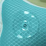 Coastacloud Bath Pillow with Suction Cups, Supports