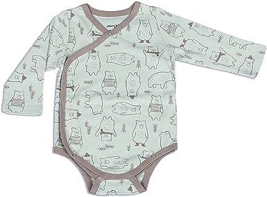 Silkberry Baby Bamboo Unisex-Baby Newborn Short Sleeve Onesie