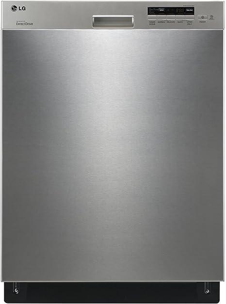 LG LDS5040ST Dirección semi integrada lavavajillas con 14-place ...