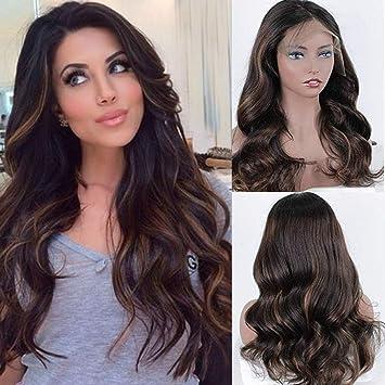 Zana Wigs Glueless Lace Front Wigs Human