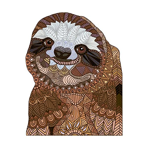 Happy Sloth 11Oz Mug - Design By Humans -