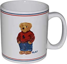 Polo Ralph Lauren Special Edition Bear Mugs (Red RL-67 0106d31394138