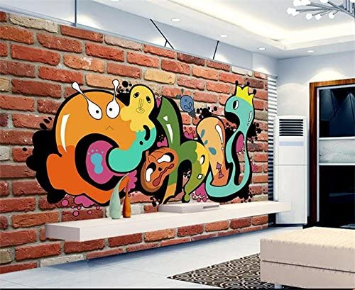 in X55.11 Whian 3D Wallpaper Mural Living Room Bedroom Decoration Wall Decal Dining Hand Painted Old Brick Window Painting Tv Background Picture Wall Sticker 200Cmx140Cm 78.74 in