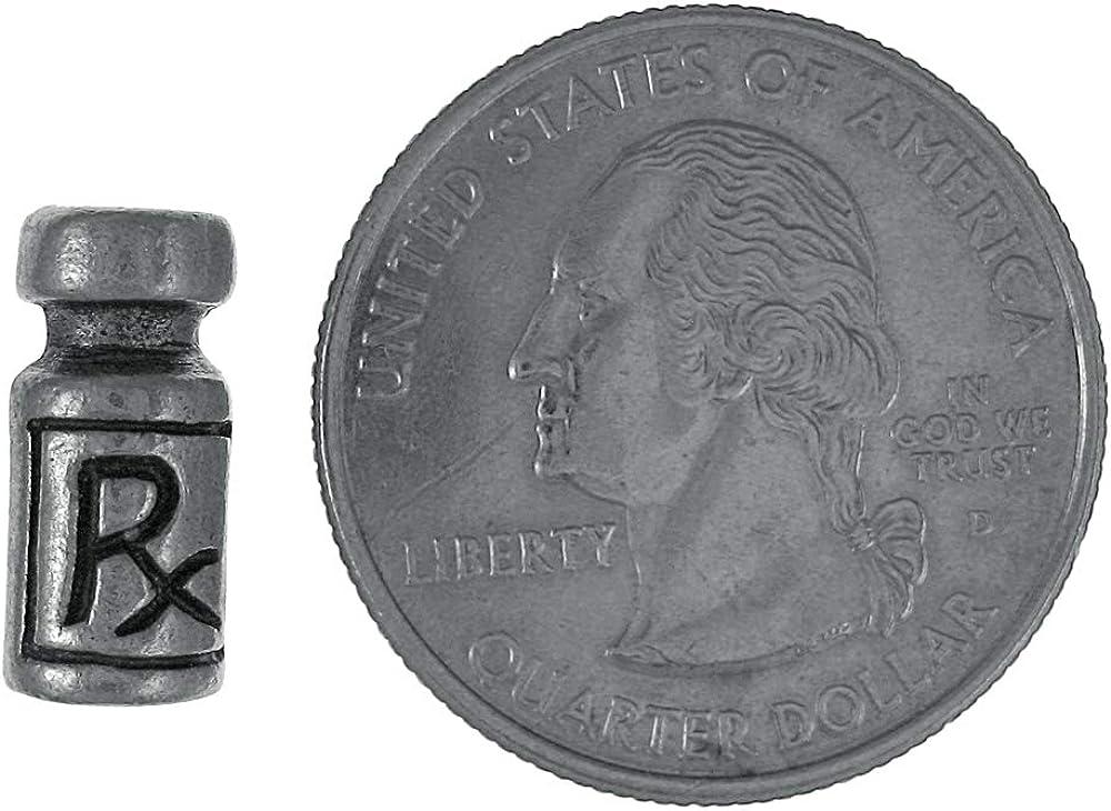 Jim Clift Design Immunization Vial Lapel Pin